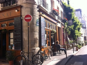 Typical street in Paris